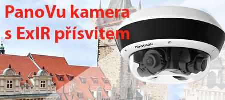 Kamera PanoVu s ExIR přísvitem